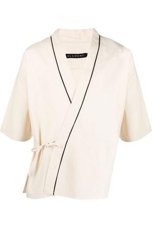 Alchemy Wrap-around cotton kimono