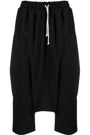 Alchemy Cropped stretch-cotton drop-crotch trousers