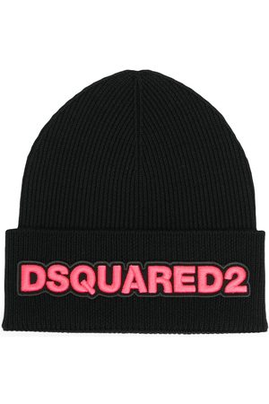 Dsquared2 Women Beanies - Logo embroidered beanie