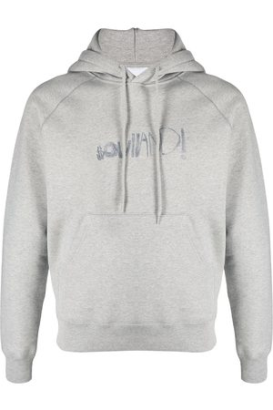 Soulland Men Hoodies - Pencil logo-print hoodie
