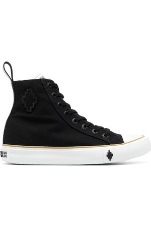 MARCELO BURLON CROSS HIGH VULCANIZED SNEAKER WHIT