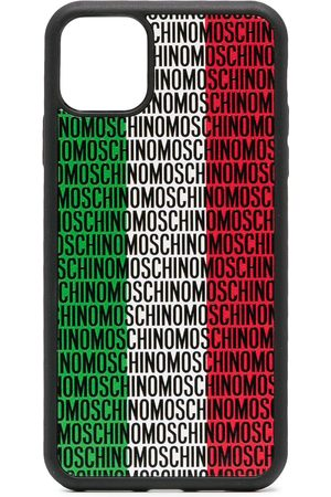Moschino Italy logo-print iPhone 11 Pro Max case