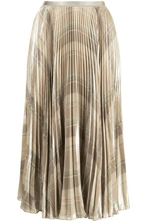 Polo Ralph Lauren Women Pleated Skirts - Checked pleated skirt