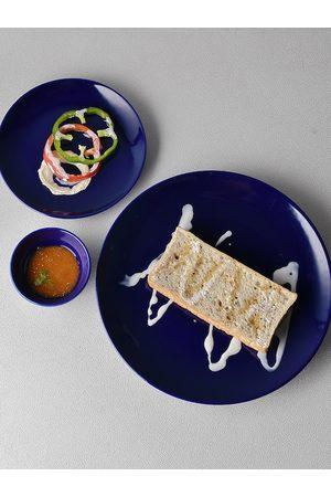 Ariane Unisex Set Of 12 Blue Prime Dinner Set 60 ml