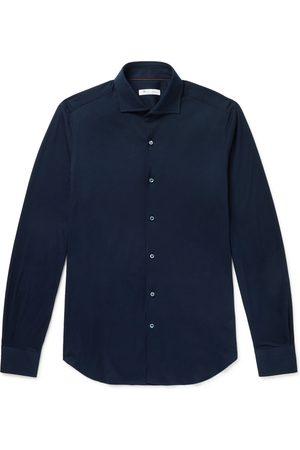 Loro Piana Slim-Fit Cotton-Jersey Shirt