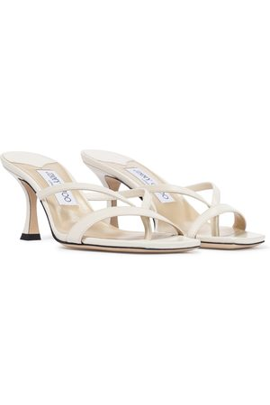 Jimmy Choo Maelie 70 leather thong sandals