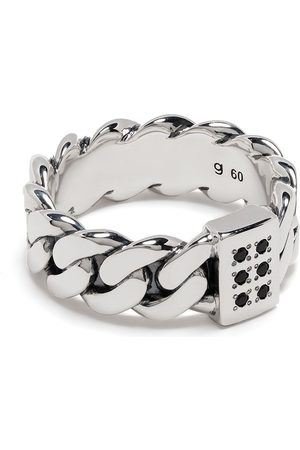 TOM WOOD Rings - Plated chain-link ring