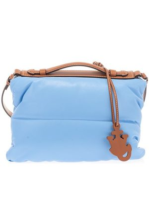 Moncler Women Shoulder Bags - WOMEN'S 5B5000002SPM708 LIGHT OTHER MATERIALS SHOULDER BAG