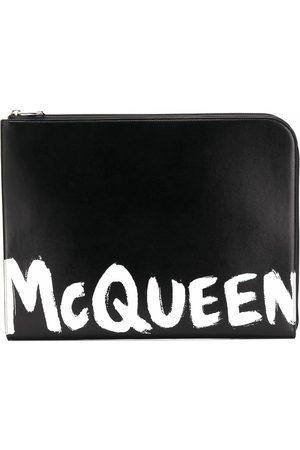 Alexander McQueen MEN'S 6094811NT0B1070 LEATHER POUCH