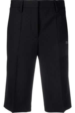 OFF-WHITE Tailored cut knee-length shorts