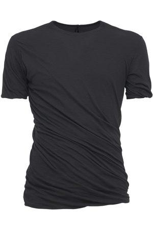 Rick Owens Twist Long Double Cotton Jersey T-shirt