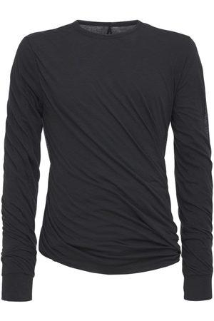 Rick Owens Twist Long L/s Double Jersey T-shirt