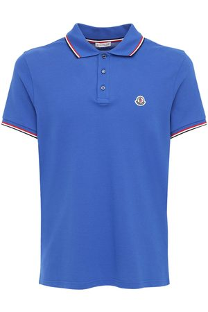 Moncler Cotton Piquet Polo Shirt
