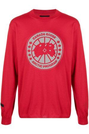 Canada Goose Fine-knit logo-patch jumper
