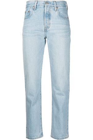 Levi's Women Straight - Mid-rise straight-leg jeans