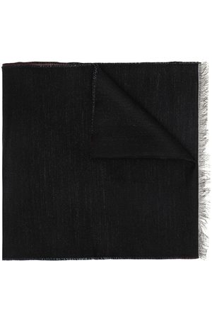 Givenchy Men Scarves - Gradient logo print fringed scarf