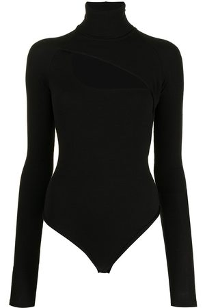 Alix NYC Cut-out long-sleeved bodysuit
