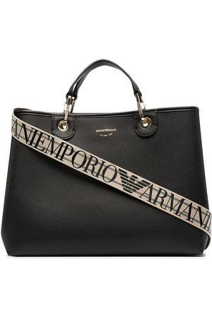 Emporio Armani Women Handbags - Logo-print tote bag