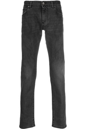 Dolce & Gabbana Faded slim-fit jeans