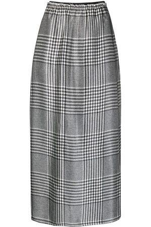 MM6 MAISON MARGIELA Prince of Wales straight skirt