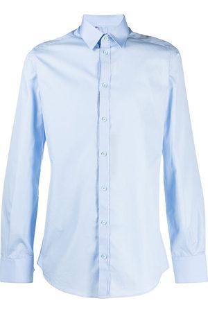 Dolce & Gabbana Men Long sleeves - Classic collar shirt