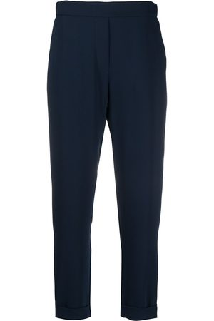 P.a.r.o.s.h. Women Slim Trousers - Cropped slim-fit trousers