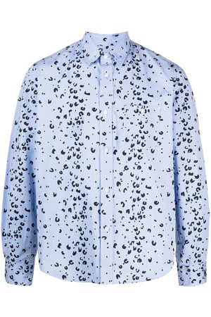 Kenzo Men Long sleeves - Abstract-print long-sleeve shirt