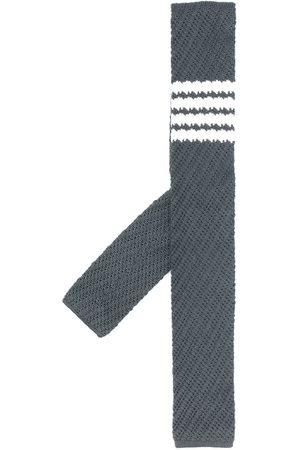 Thom Browne Men Bow Ties - 4-bar silk tie