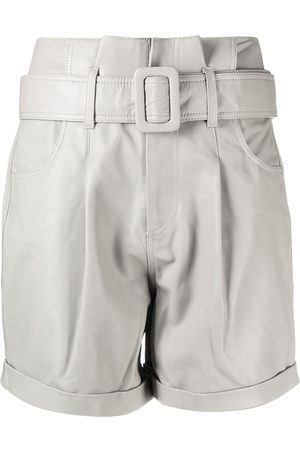 FEDERICA TOSI Belted high waisted shorts