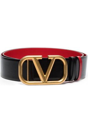 VALENTINO GARAVANI VLOGO buckle leather belt