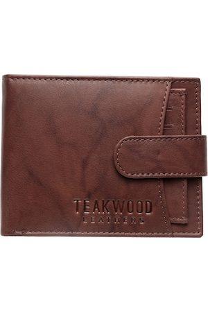 Teakwood Leathers Men Brown Solid Genuine Leather Wallet