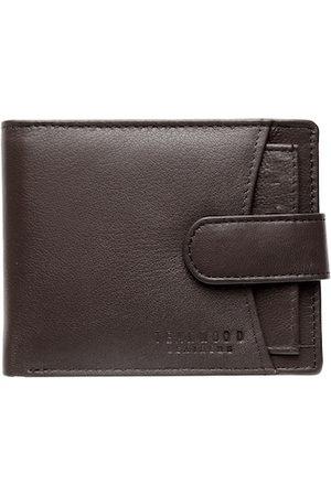 Teakwood Leathers Men Brown Solid RFID Protected Genuine Leather Two Fold Wallet
