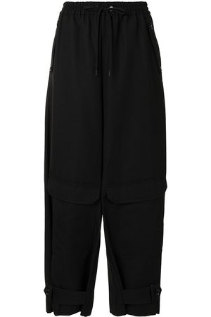 Y'S Tapered leg trousers
