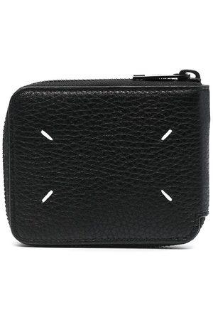 Maison Margiela Men Wallets - Four-stitch compact wallet