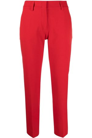 PIAZZA SEMPIONE Mid-rise tapered trousers