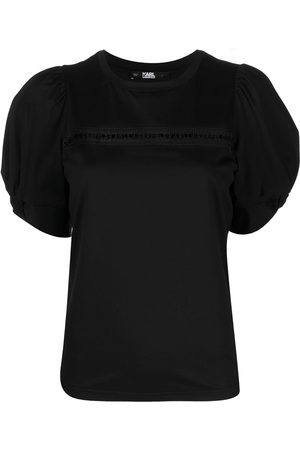 Karl Lagerfeld Puffy sleeve T-shirt