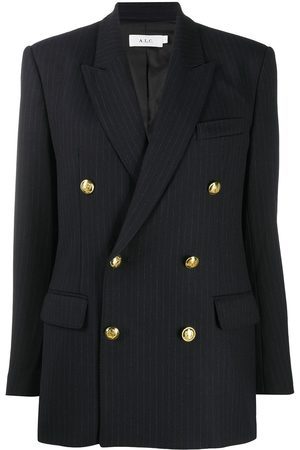 A.L.C. Pinstripe double-breasted blazer