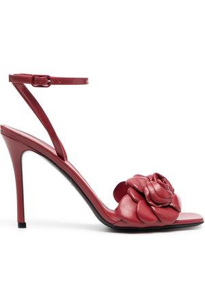 VALENTINO GARAVANI 100mm Atelier 03 rose edition sandals