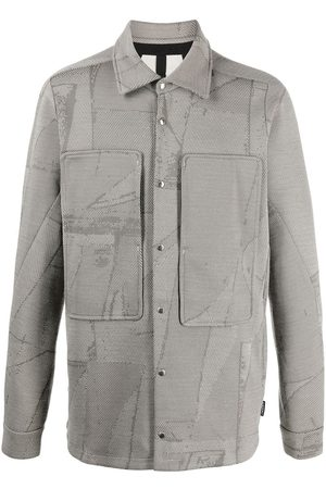 Byborre Long Sleeve - Abstract geometric print shirt