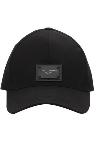 Dolce & Gabbana Logo Plaque Cotton Baseball Cap