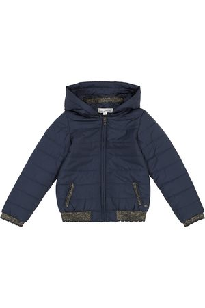 Tartine Et Chocolat Hooded quilted jacket