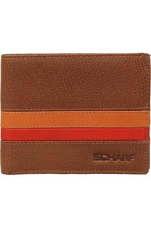 Scharf Men Brown Genuine Leather Wallet