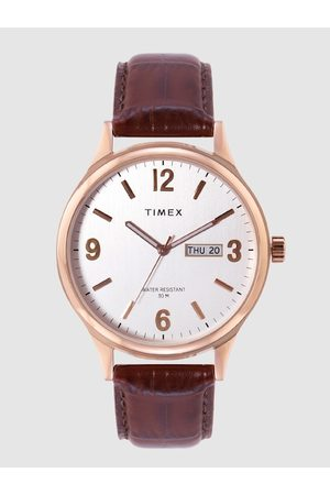 Timex Men Silver-Toned Analogue Watch TWEG18402