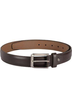 Alvaro Castagnino Men Brown Solid Belt