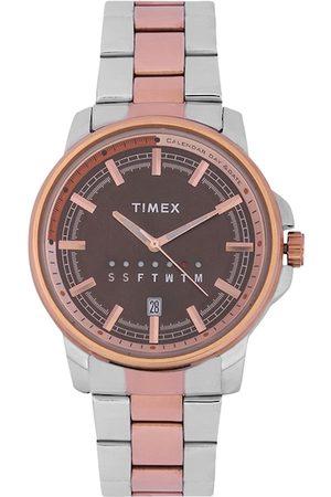 Timex Men Brown Analogue Watch TWEG17206
