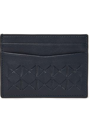 SERAPIAN Men Wallets - Woven Leather Cardholder