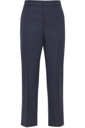 VALENTINO Vltn Times Wool Pants