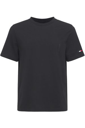 Moncler Crewneck Cotton Jersey T-shirt