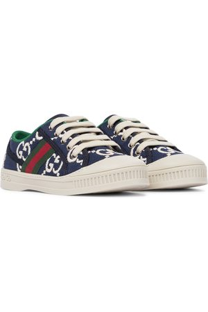 Gucci Girls Sneakers - Gucci Tennis 1977 canvas sneakers
