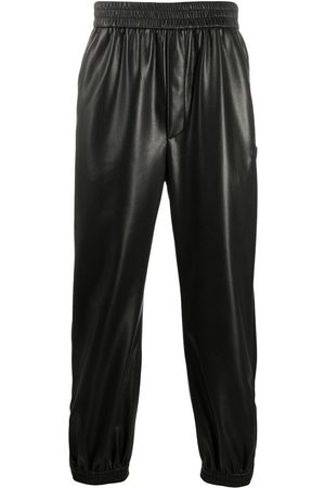 Nanushka Men Leather Trousers - Goro leather-look trousers